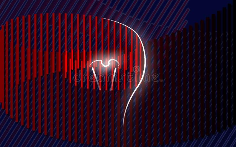 Concetto di idea, illustrazione di vettore immagine stock libera da diritti