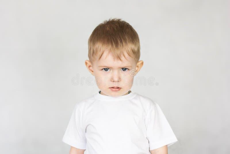 Concetto di insulto del bambino childish immagini stock libere da diritti