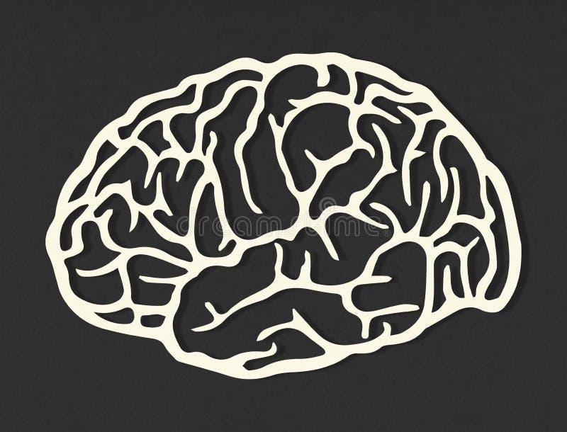 Concetto di intelligenza artificiale immagine stock libera da diritti