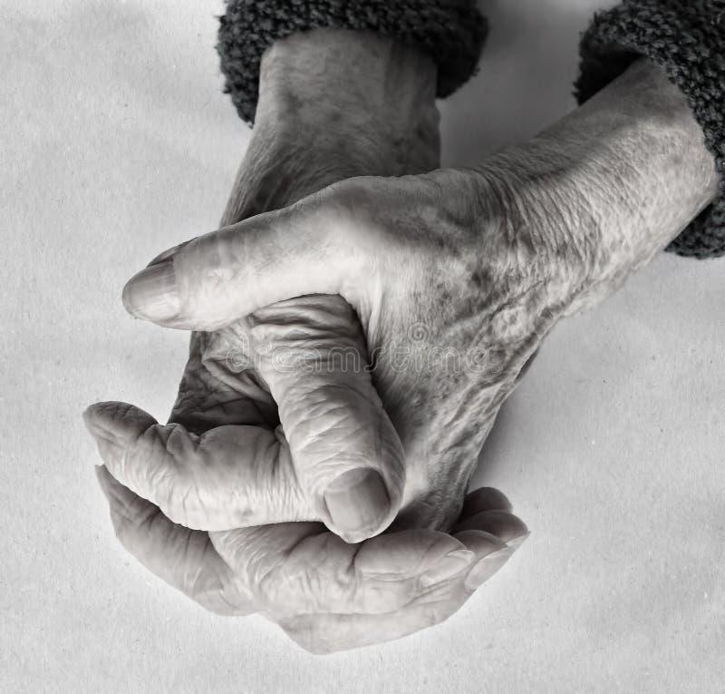 Concetto di invecchiamento fotografia stock libera da diritti
