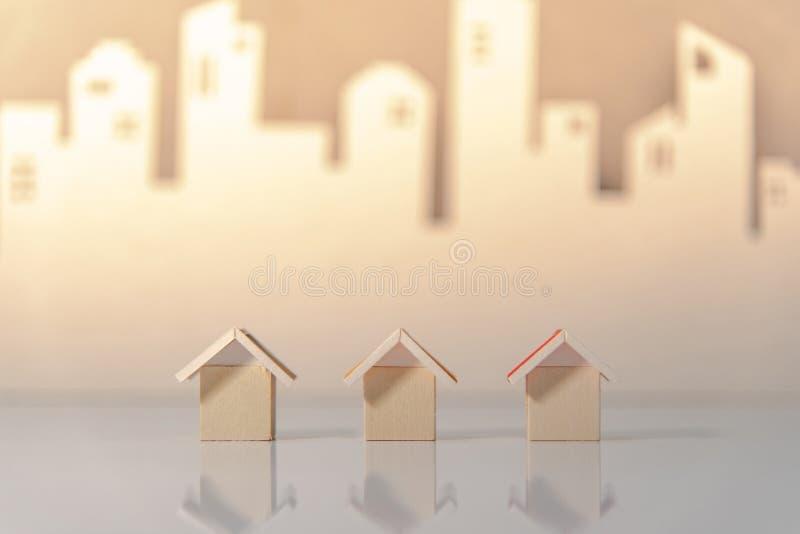 Concetto di investimento della proprietà o del bene immobile fotografia stock