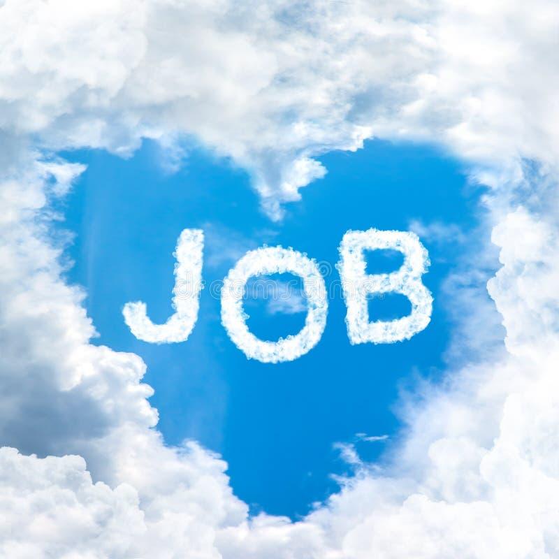 Concetto di job immagine stock