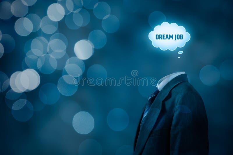 Concetto di lavoro da sogno immagine stock