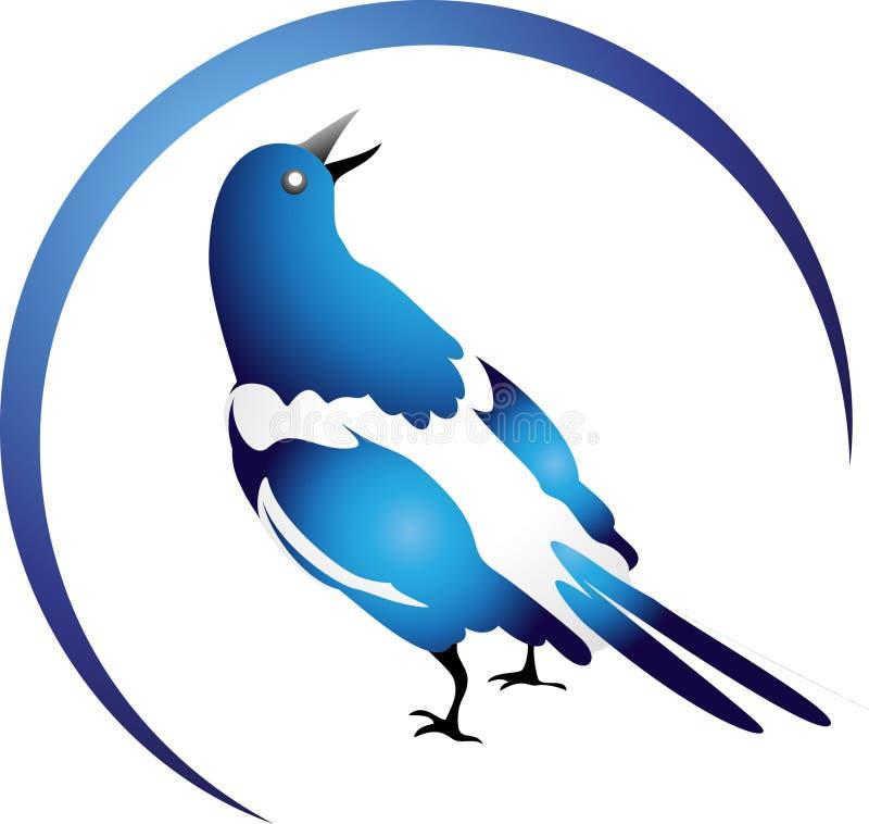 Concetto di logo dell'uccello illustrazione di stock