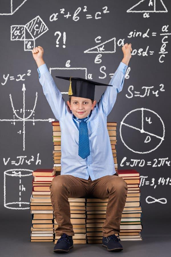 Concetto di matematica di istruzione immagine stock