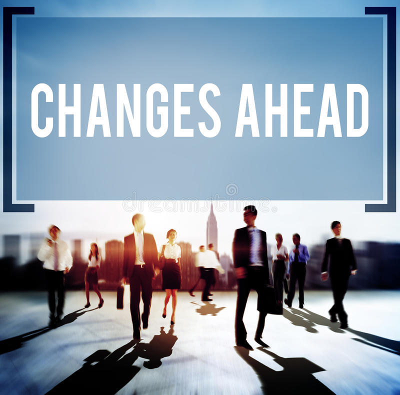 Concetto di miglioramento di aspirazione di ambizione dei cambiamenti avanti immagine stock libera da diritti