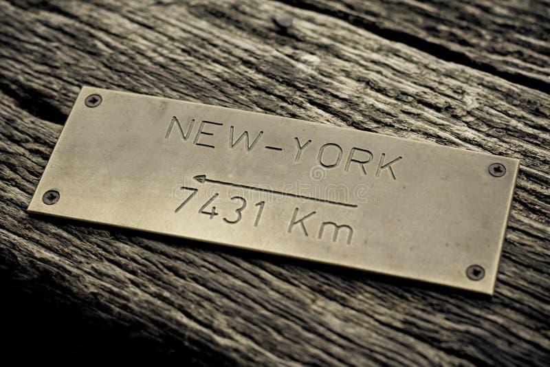Concetto di New York immagini stock