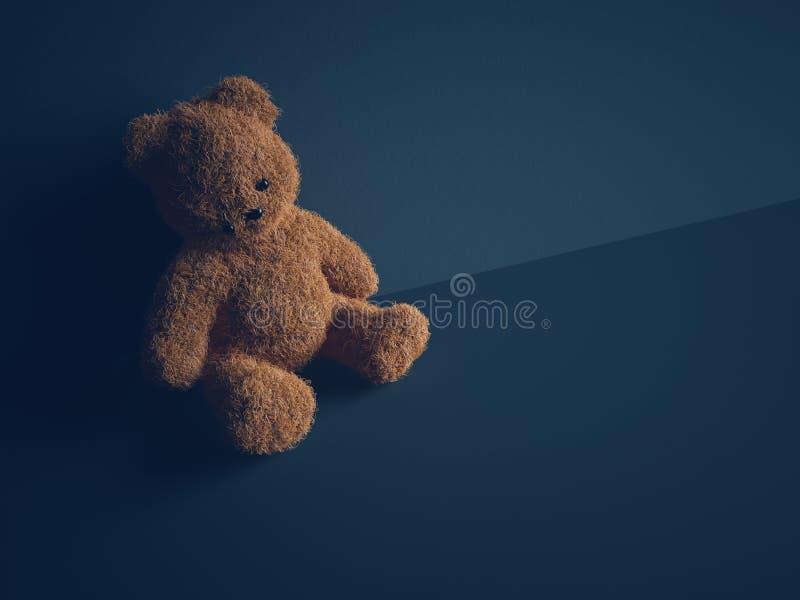 Concetto di pedofilia fotografia stock