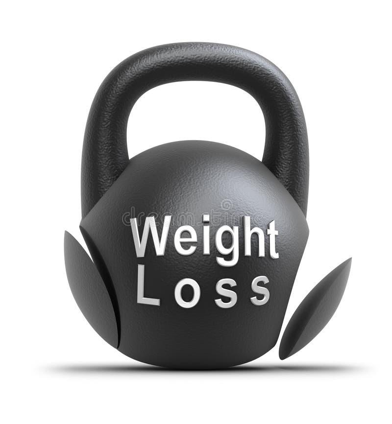 Concetto di perdita di peso illustrazione di stock
