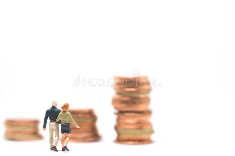 Concetto di pianificazione dei soldi di matrimonio fotografie stock