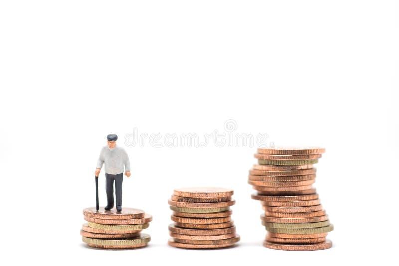 Concetto di pianificazione di pensionamento immagine stock