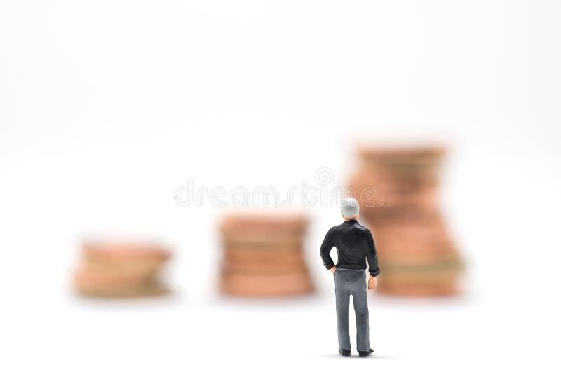 Concetto di pianificazione finanziaria fotografia stock