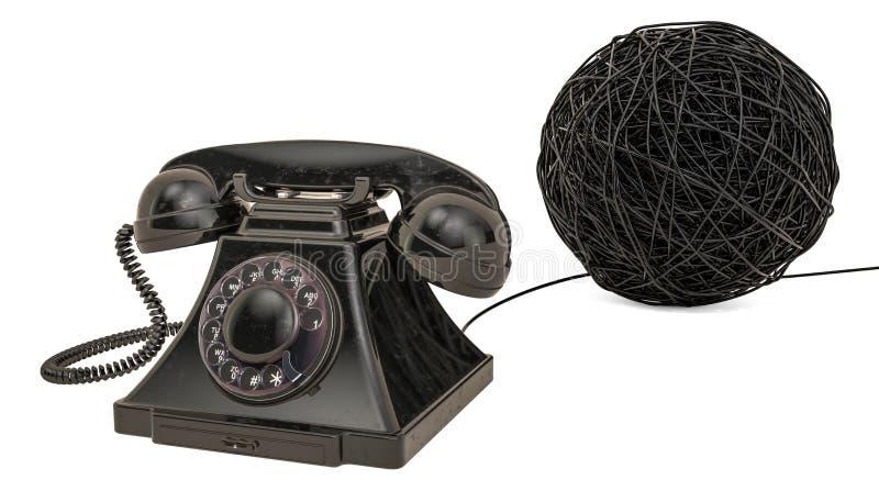 Concetto di problema di comunicazione, rappresentazione 3D royalty illustrazione gratis