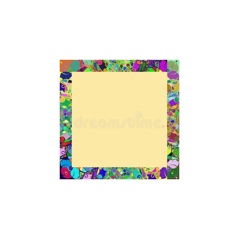 Concetto di progetto del fondo della struttura di Coloreful illustrazione di stock