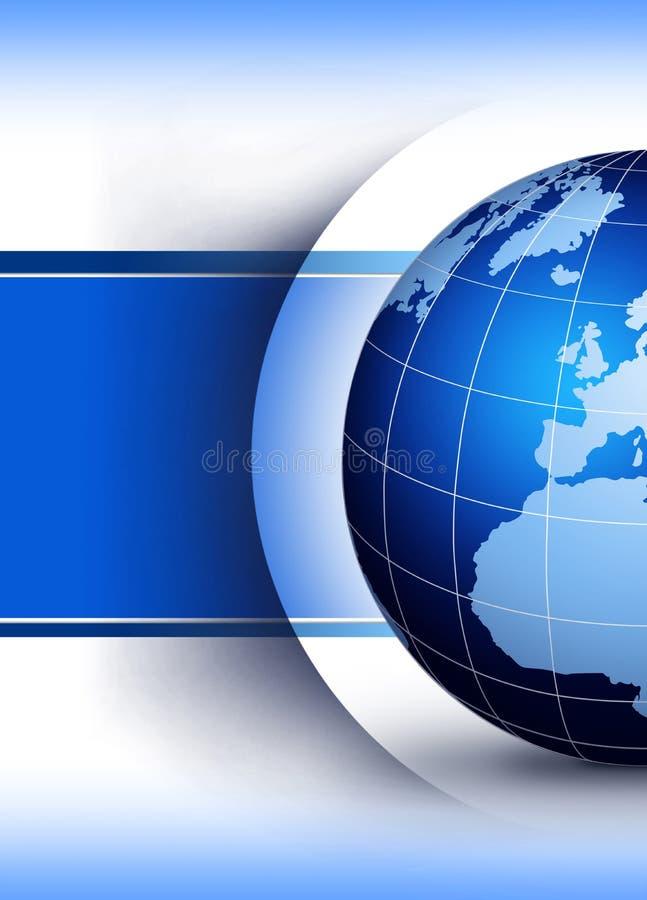 Concetto di progetto del globo del mondo illustrazione di stock