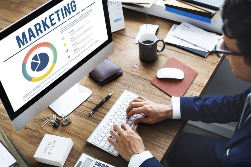 Concetto di promozione di sviluppo del prodotto di vendita immagine stock