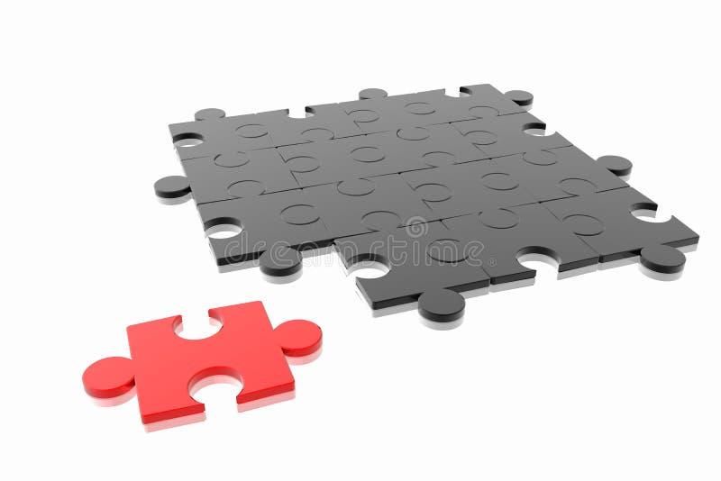 Concetto Di Puzzle Fotografie Stock