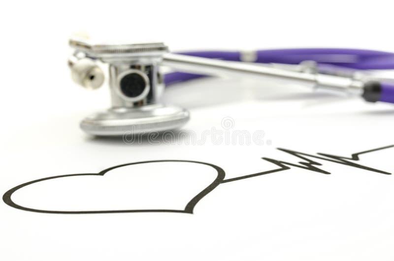 Concetto di salute del cuore fotografia stock libera da diritti