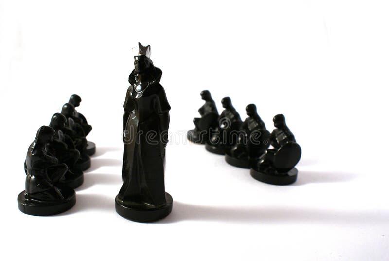 Concetto di scacchi di potenza fotografie stock libere da diritti