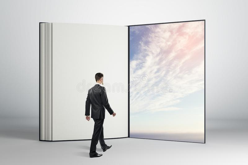 Concetto di sogno e futuro immagine stock