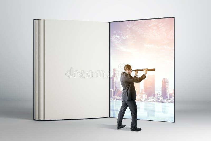 Concetto di sogno e futuro immagini stock