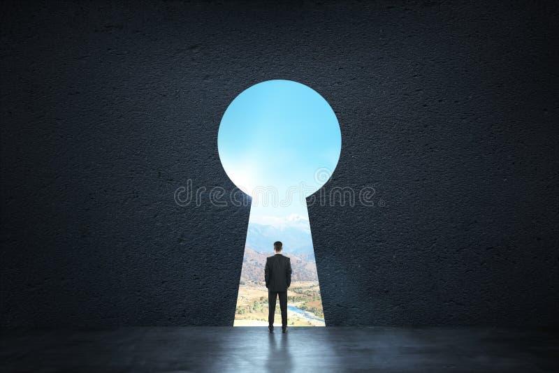 Concetto di sogno, di successo, di opportunità e di futuro immagini stock libere da diritti