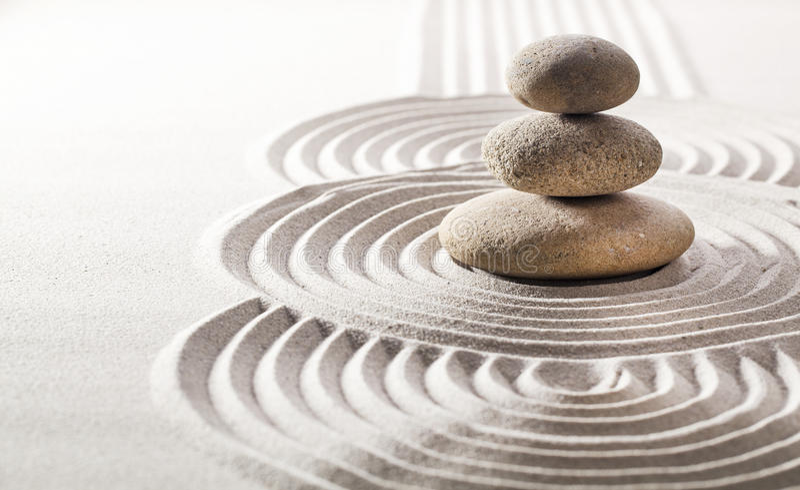 Concetto di spiritualità di zen immagine stock libera da diritti