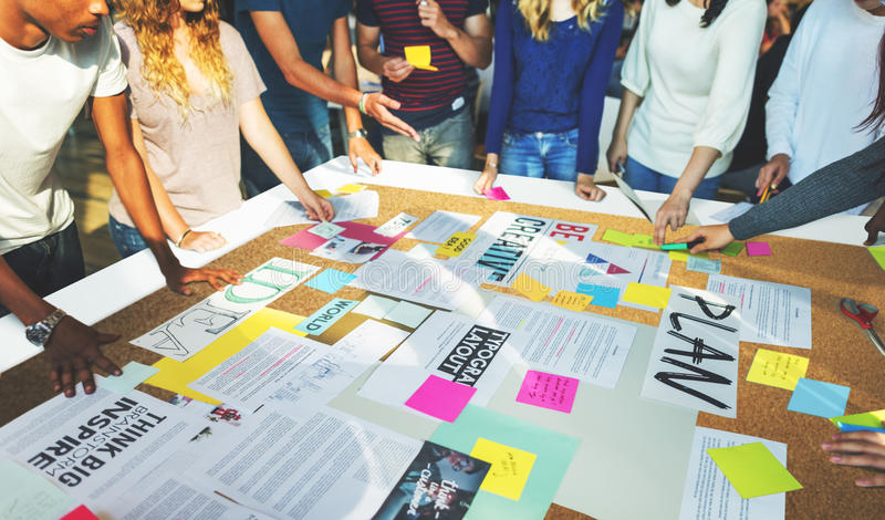 Concetto di studio di Classmate Friends Understanding dello studente immagine stock libera da diritti