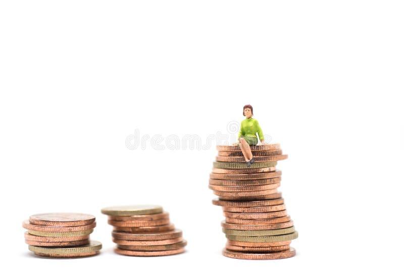 Concetto di successo finacial fotografia stock