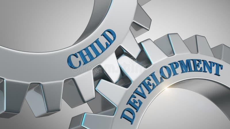 concetto di sviluppo infantile illustrazione vettoriale