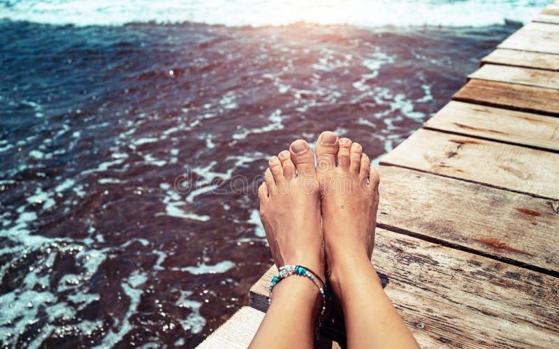 Concetto di vacanze estive immagine stock libera da diritti