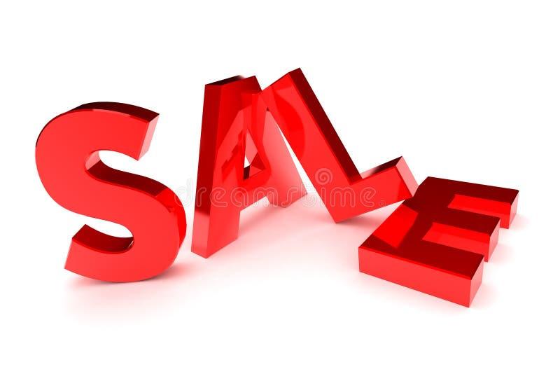 Concetto di vendita illustrazione di stock