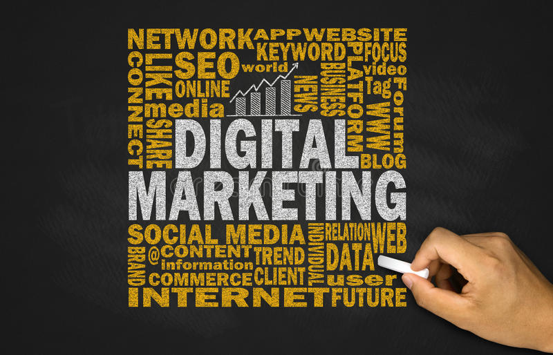 Concetto di vendita di Digital fotografie stock