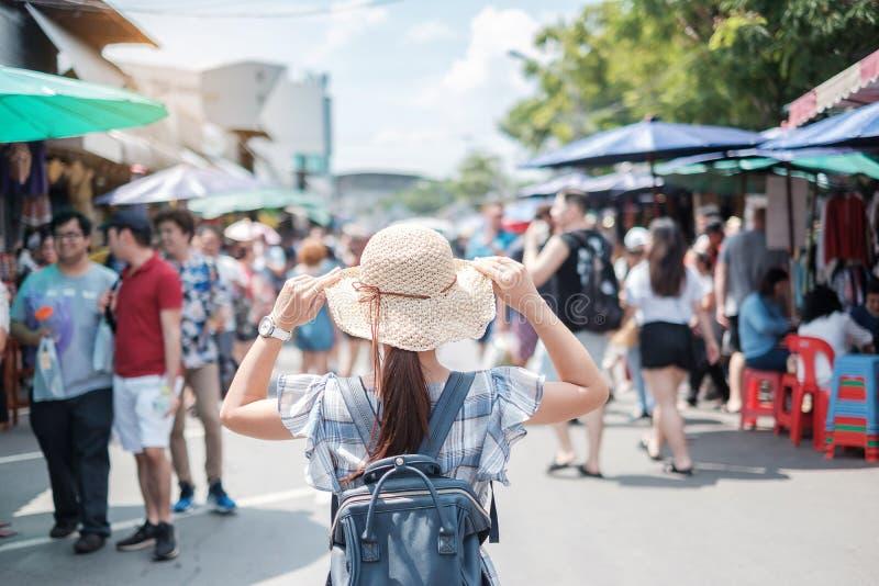 Concetto di viaggio di Bangkok fotografia stock