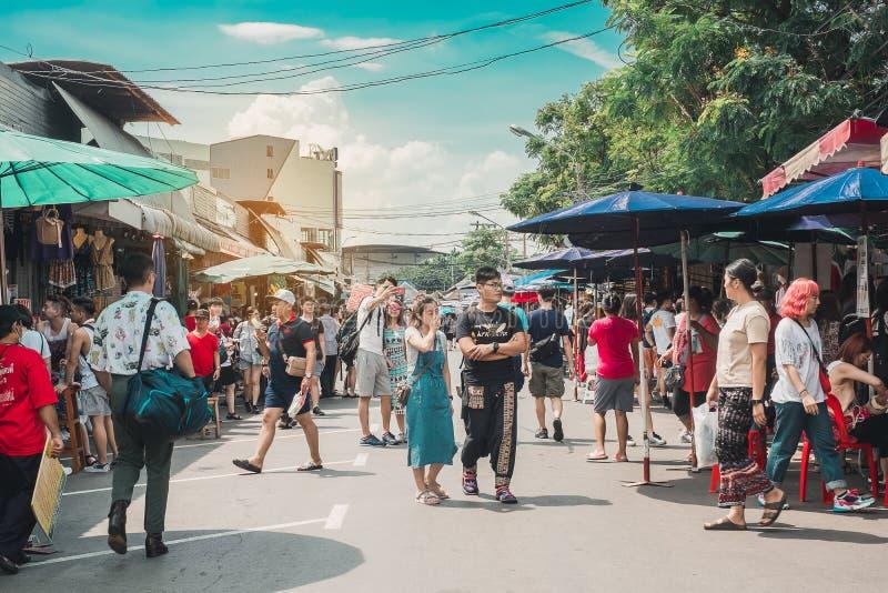 Concetto di viaggio di Bangkok fotografie stock libere da diritti