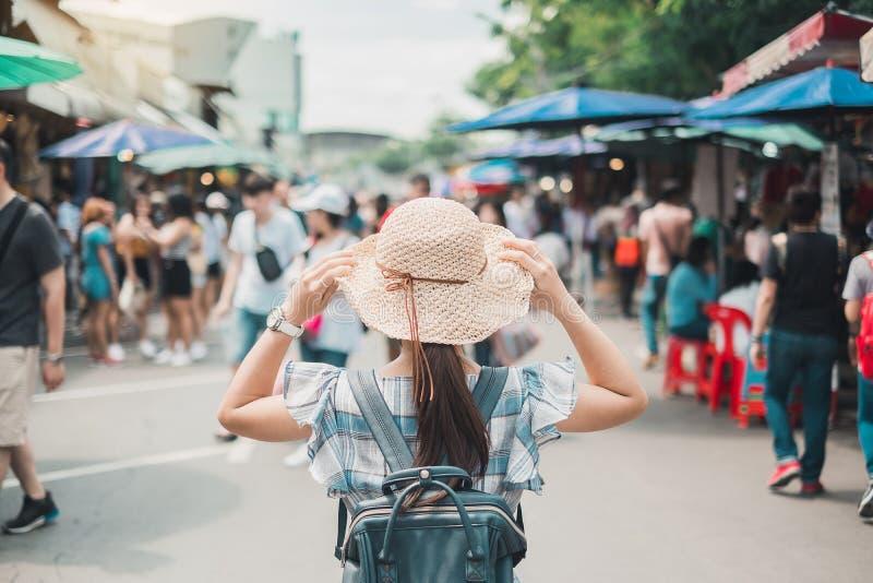 Concetto di viaggio di Bangkok immagini stock libere da diritti