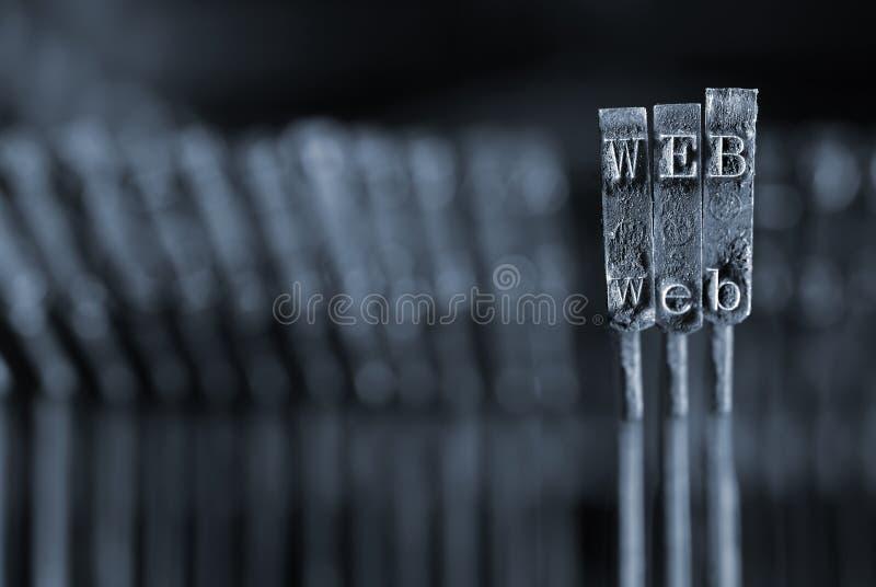 Concetto di Web fotografia stock libera da diritti