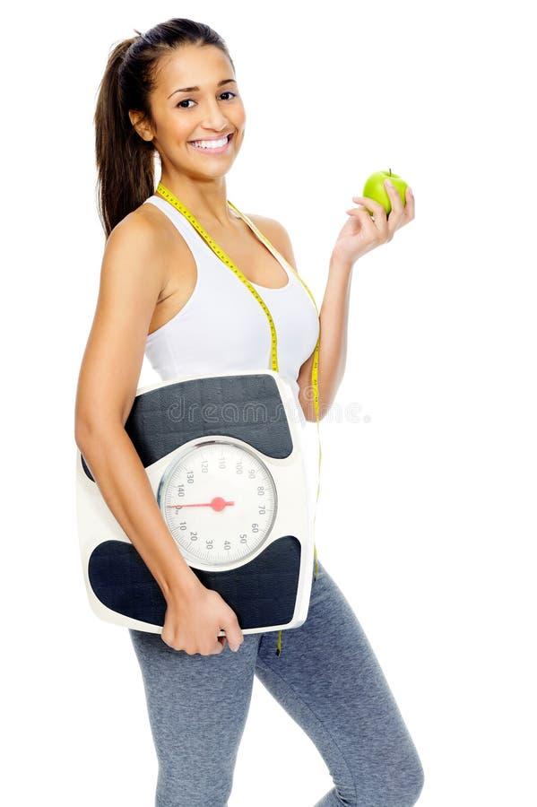 Concetto di Weightloss fotografia stock
