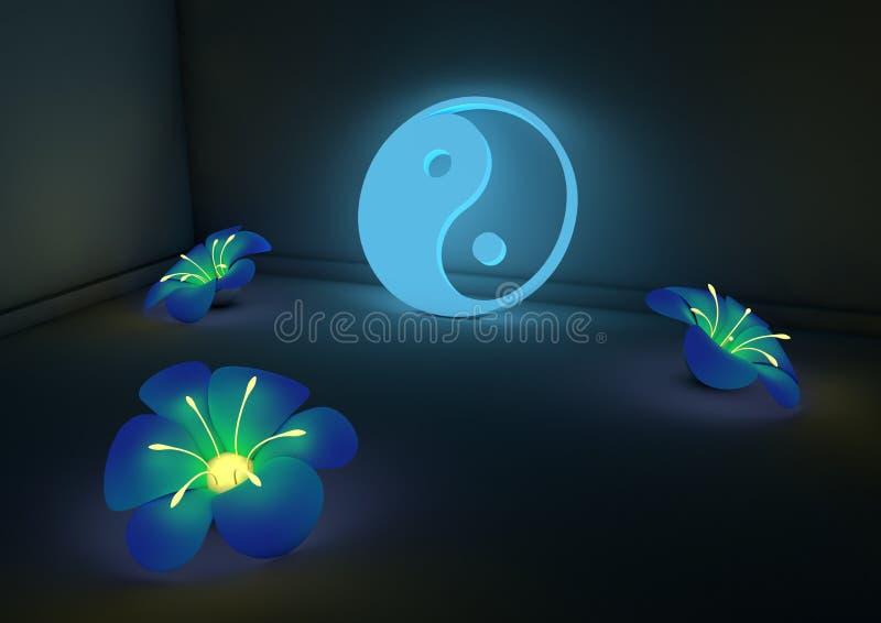 Concetto di zen royalty illustrazione gratis