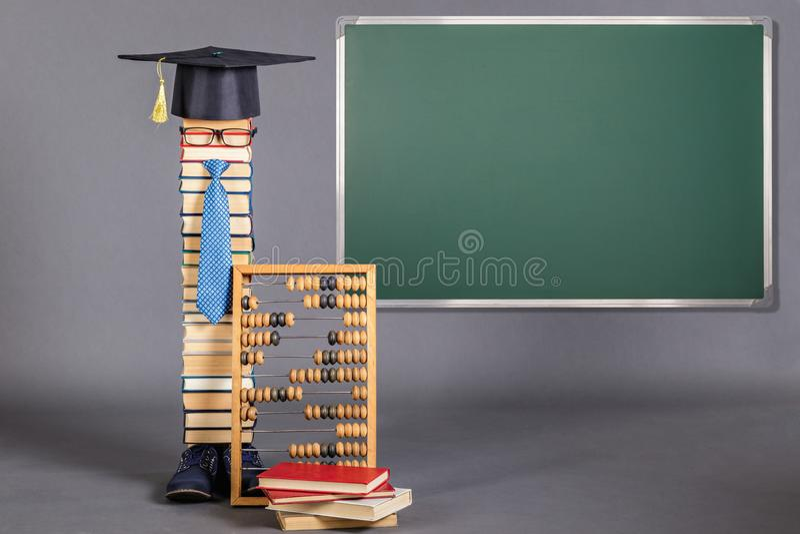 Concetto divertente di istruzione immagine stock