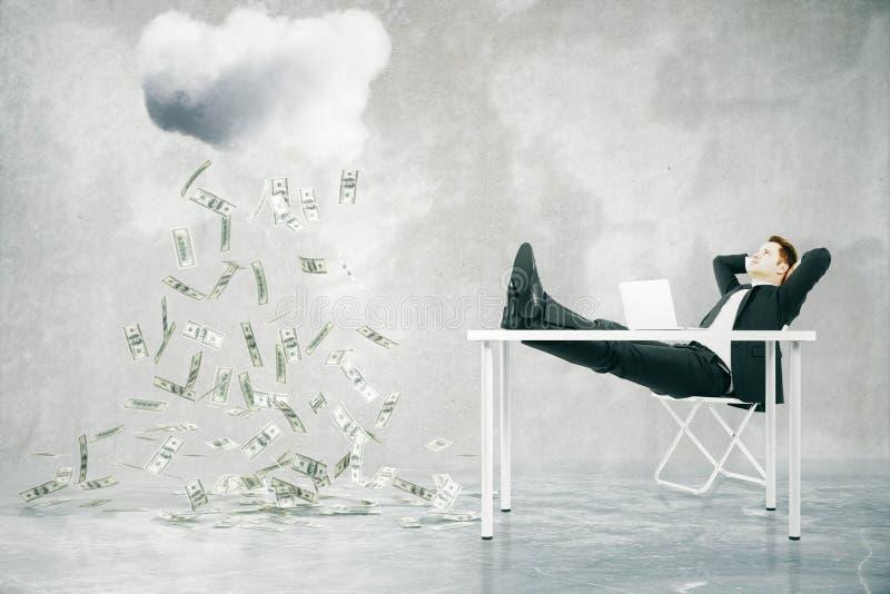 Concetto finanziario di sviluppo royalty illustrazione gratis