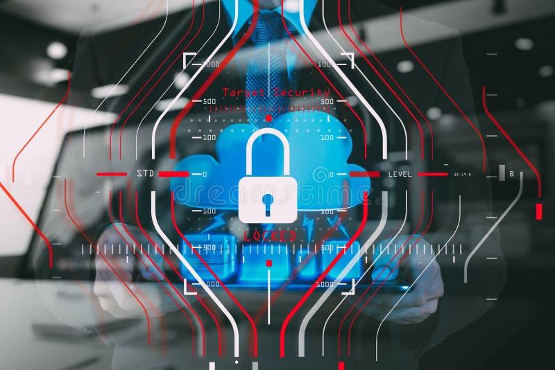 Concetto generale di regolamento (GDPR) e di sicurezza di protezione dei dati C fotografie stock libere da diritti