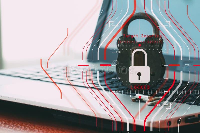 Concetto generale di regolamento (GDPR) e di sicurezza di protezione dei dati C fotografia stock libera da diritti