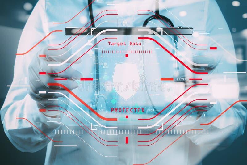 Concetto generale di regolamento (GDPR) e di sicurezza di protezione dei dati C fotografie stock