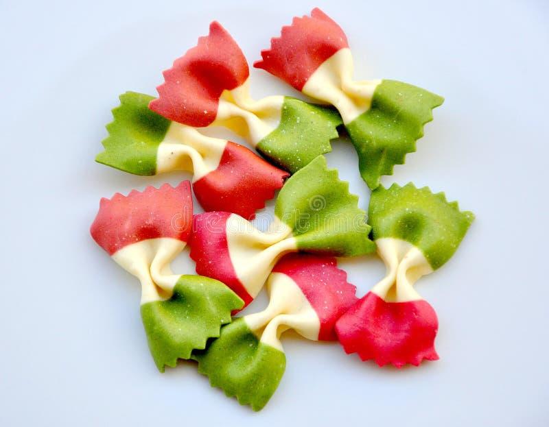 Concetto italiano dell'alimento fotografie stock libere da diritti