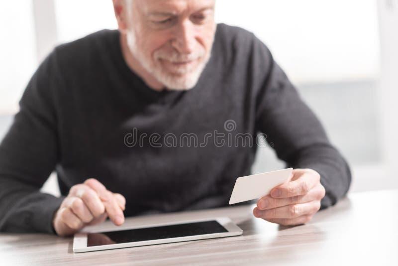 Concetto in linea di pagamento fotografie stock