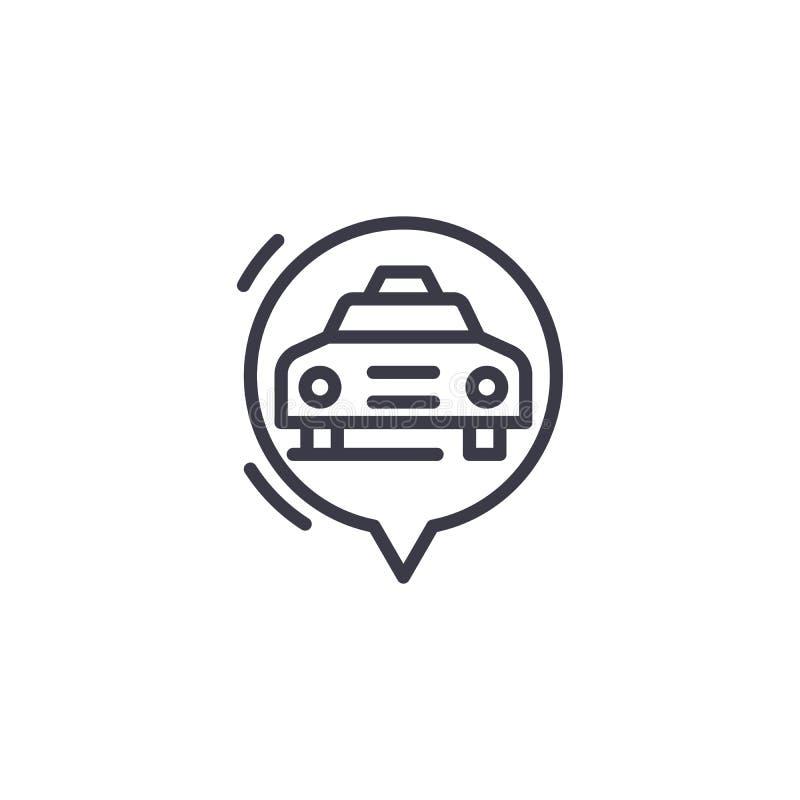 Concetto lineare dell'icona del FORNELLO di RISO Linea segno di vettore, simbolo, illustrazione del FORNELLO di RISO royalty illustrazione gratis