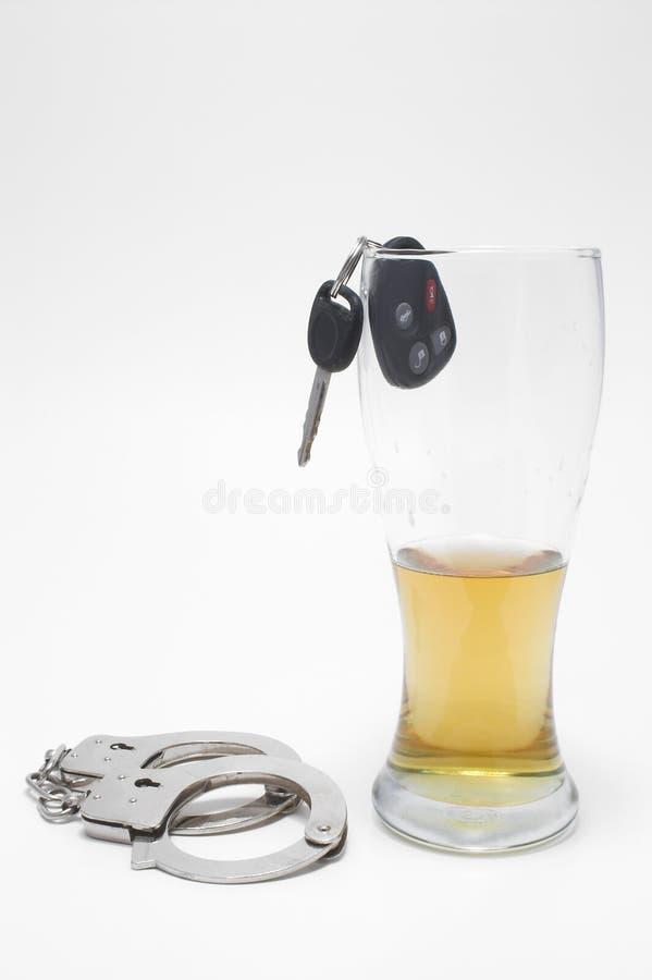 Concetto movente ubriaco immagini stock libere da diritti