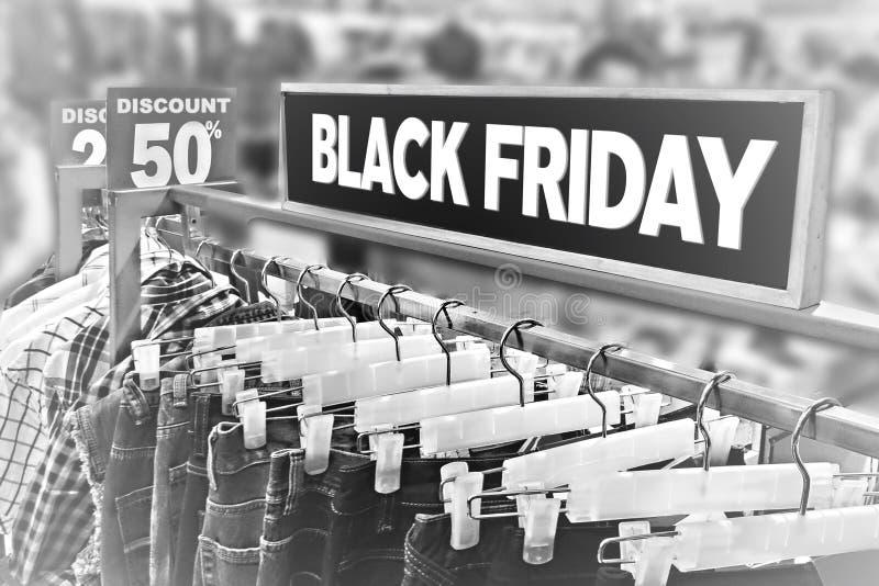Concetto nero di venerdì fotografia stock libera da diritti