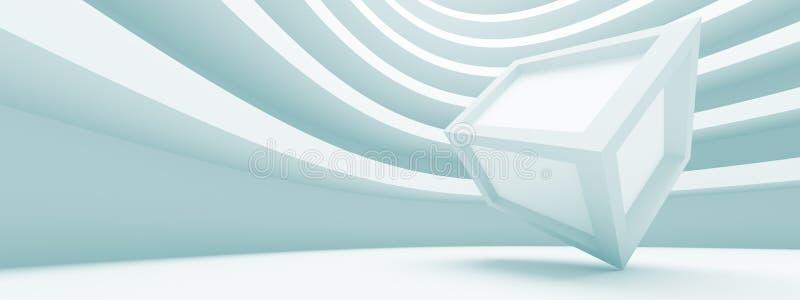 Concetto panoramico di architettura illustrazione vettoriale